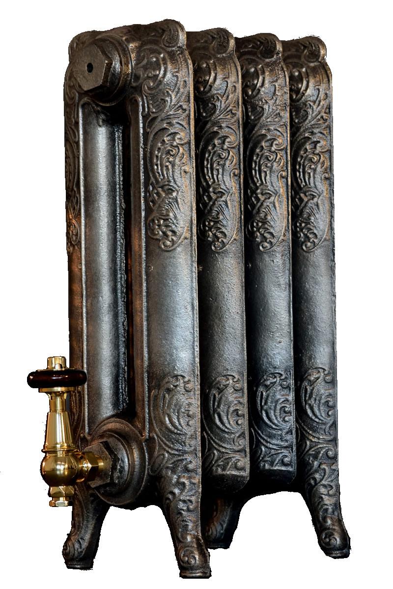 Antiqued Pewter Cast Iron Radiators